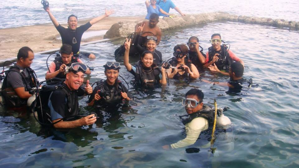 Scuba Diving in Anilao