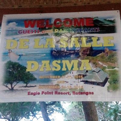 Beach Resort in Batangas: DLSU Biology Students meet Sea Creatures at Eagle Point Resort