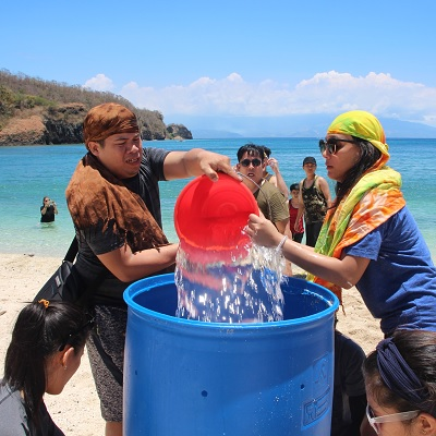 Beach in Batangas: Frontrow International first Team Outing in Batangas Beach