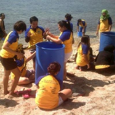 Batangas Beach Resorts: Team Building Venue: Department of Health visits Eagle Point Beach Resort in Batangas!