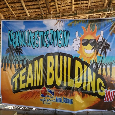 Batangas Beach Resort: NCR Police fiercely faced Eagle Point Resorts challenging Team Building Activities