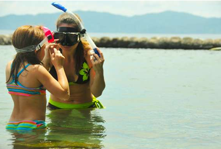 Snorkelling in Batangas Beach Resort